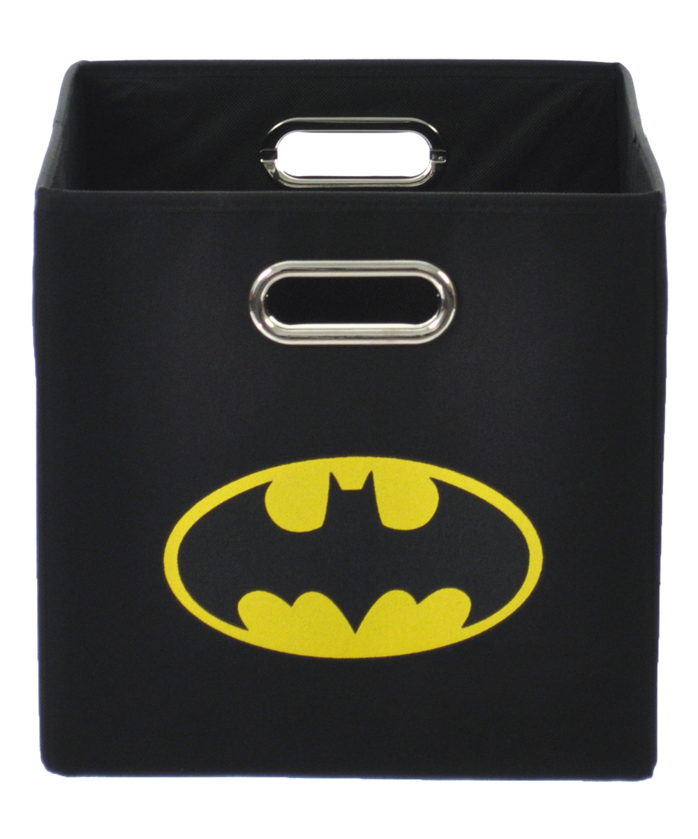 Modern Littles  Storage Boxes  - Batman Black Logo Folding Storage Bin
