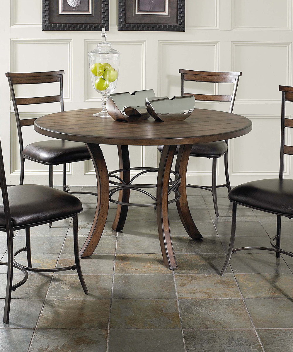Cameron Five-Piece Round Ladder-Back Dining Room Set  be1515be24