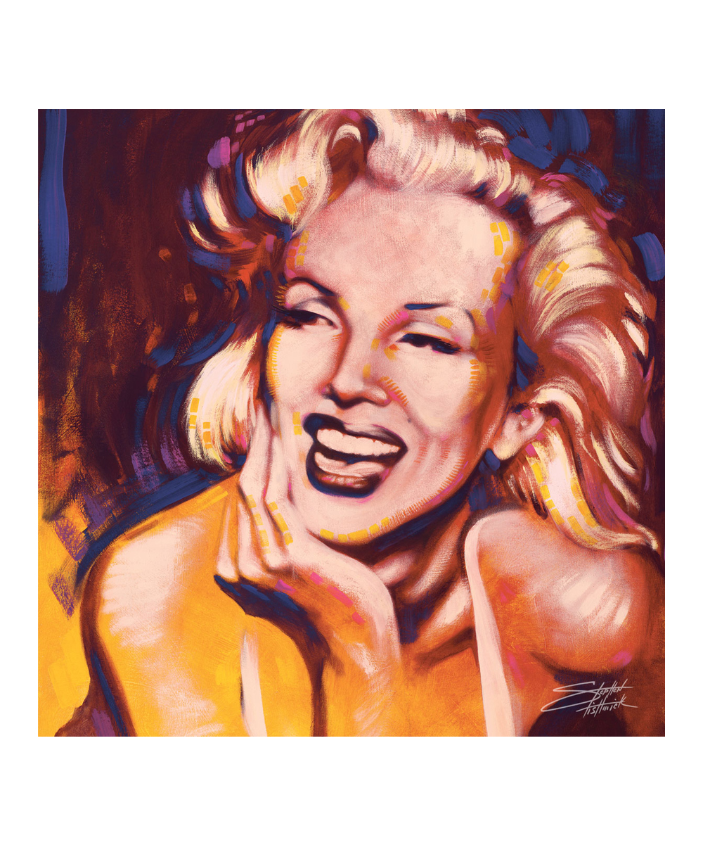 Stephen Fishwick Marilyn Monroe Fun Wrapped Canvas Zulily