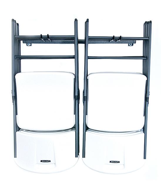 Small Folding Chair Wall Rack