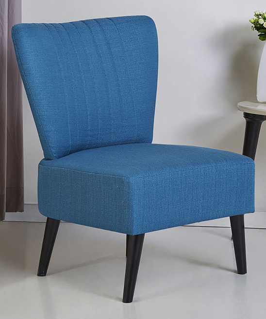 Gold Sparrow  Accent Chairs Blue - Blue Fontana Accent Chair