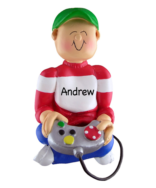 Personalized Planet  Holiday Ornaments  - Video Game Player Personalized Ornament