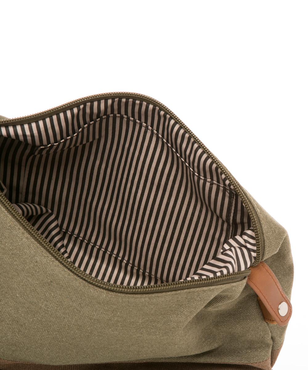 f6f3849cd2 Brouk   Co. Military Green   Brown Original Toiletry Bag