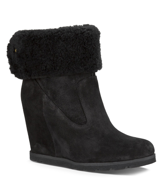 ec477ae25a9 UGG® Black Kyra Suede Boot