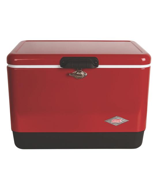 Coleman 13 5-Gal Red Steel Cooler