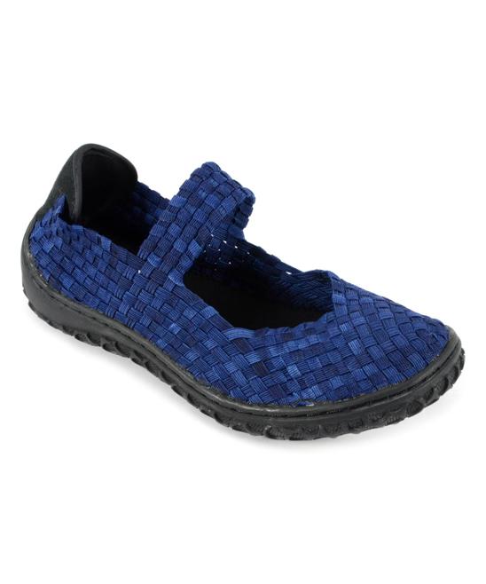 Corkys Footwear Women's Walking Shoes Dark - Dark Denim Liz Walking Shoe - Women