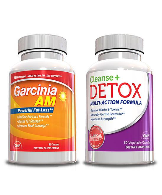Genetic Solutions Garcinia AM Weight Loss & Detox Supplements