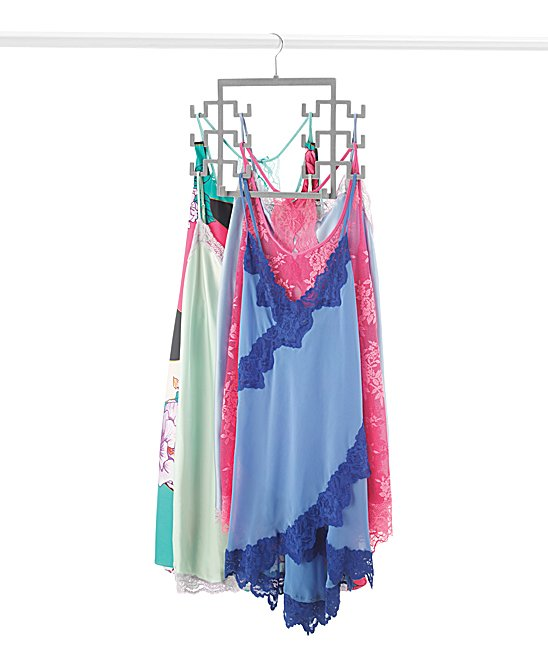 Spacemaker Tank Top Hangers - Set of Two Spacemaker Tank Top Hangers - Set of Two. Ideal for tank tops, belts, scarves and purses, these space-saving hangers keep your closet neat and organized.Includes two hangers13'' W x 14.65'' H x 1.14'' DMetal / plastic / nylonImported