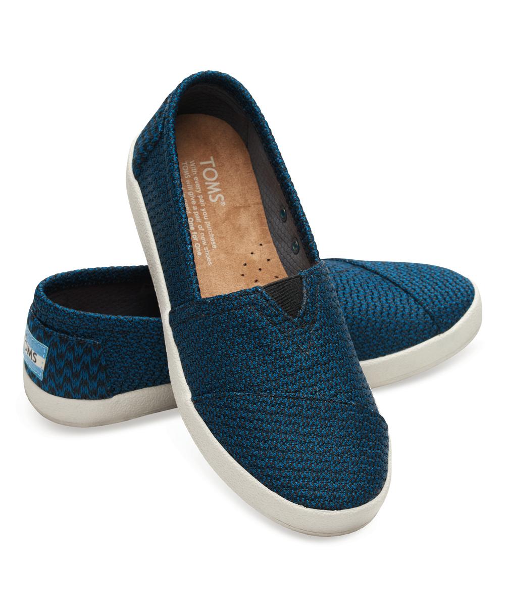 03a5cd49a14 Toms blue black mesh avalon sneaker zulily jpg 1000x1201 Mesh toms shoes