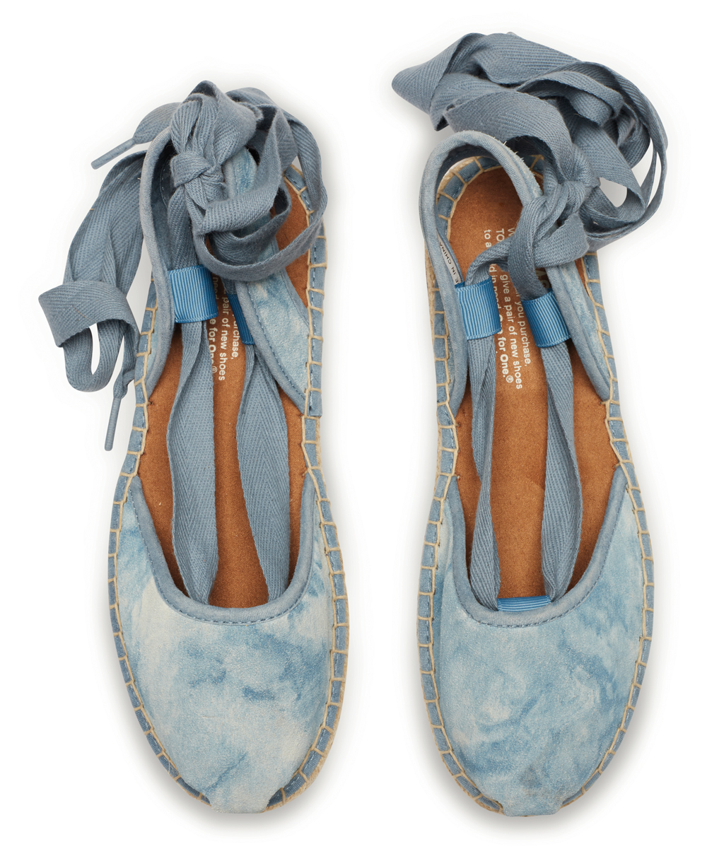 676aa270fd2 all gone. Blue Skyway Washed Suede Bella Espadrille