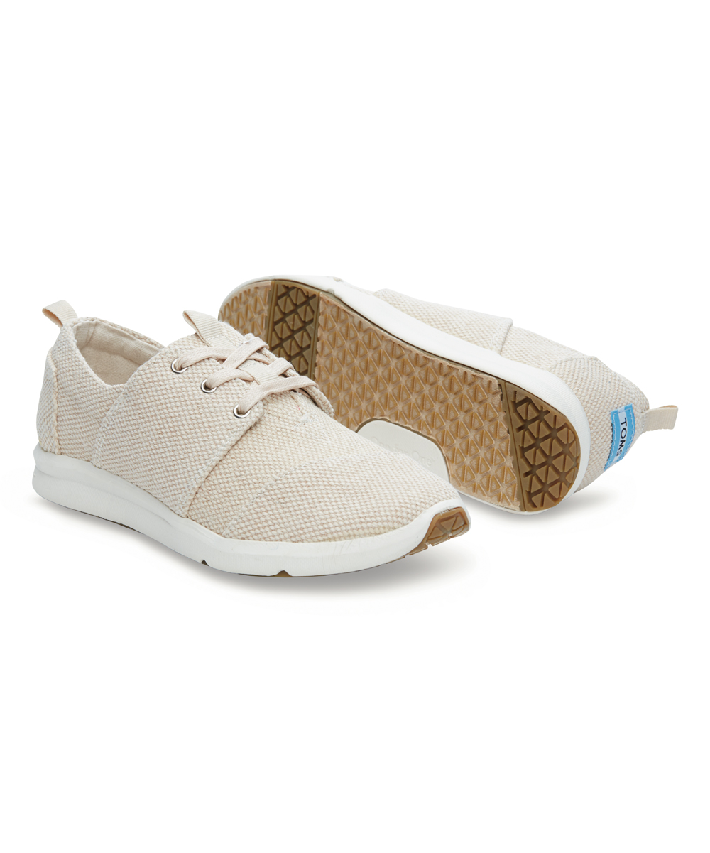42cd71b6d32 love this product Natural Textured Canvas Del Rey Sneaker