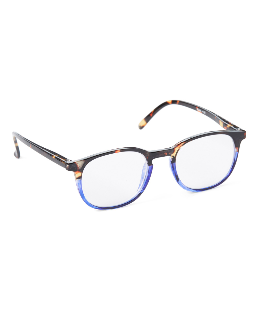 Art Wear Women's Reading Glasses TORT/BLUE - Tortoise & Blue Square Readers