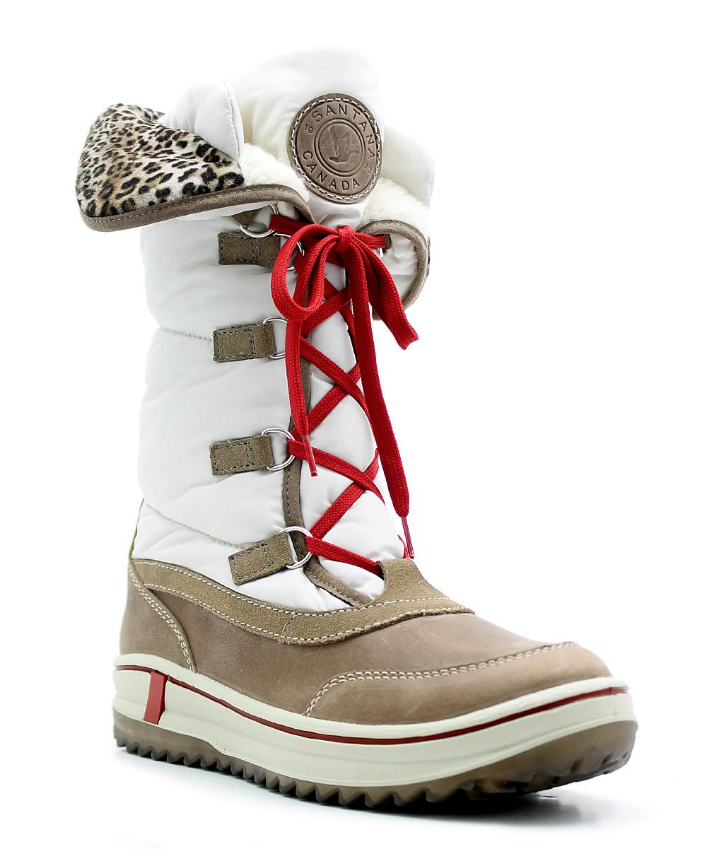 e6ef48eb1d2 Santana Canada Ice Mirabelle Leather Boot
