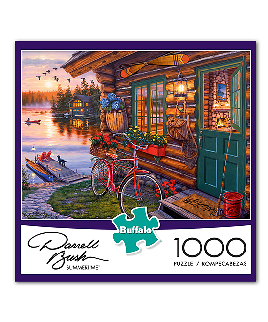 Buffalo Games - Darrell Bush - Summertime - 1000 Piece Jigsaw Puzzle