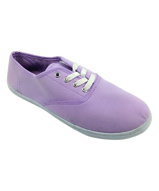 Ositos Shoes Women's Sneakers LILAC - Lilac Classic Lace-Up Sneaker - Women