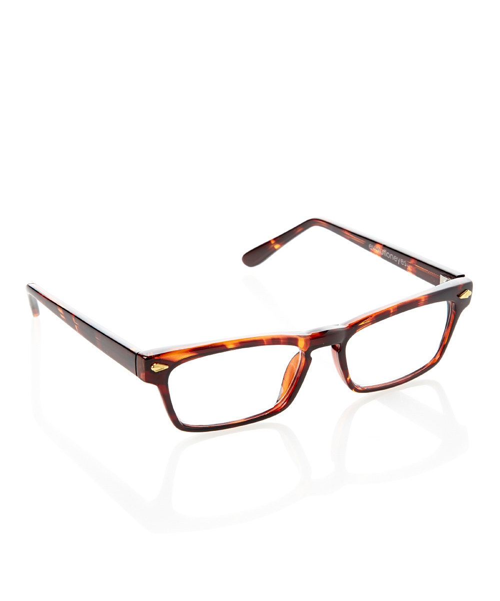 Shiny Tortoise Fashion Readers Shiny Tortoise Fashion Readers. A fashionable silhouette meets cutting-edge technology, resulting in these trendy reading glasses. The spring-hinge temples add to both comfort and durability. Lens width: 50 mmBridge distance: 15 mmArms length: 133 mmPlasticImported