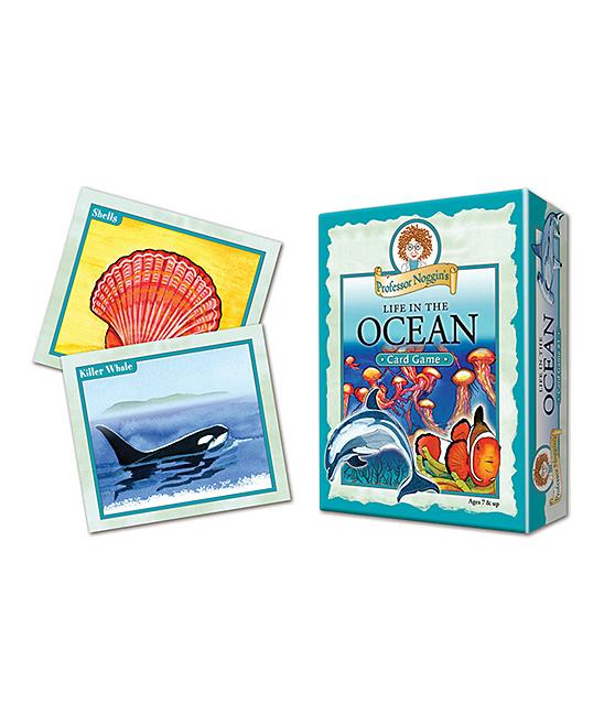 Professor Noggin Life in the Ocean Game