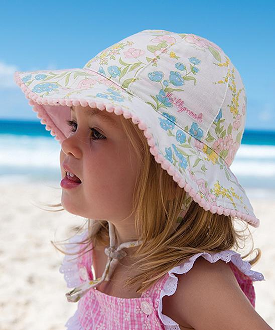 0ba156ff Girls Pink Pink Indiana Bucket Hat - Infant - Alternate Image 1 ...
