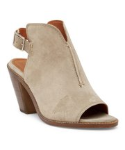 Deals on Frye Women Ash Courtney Suede Slingback Mule