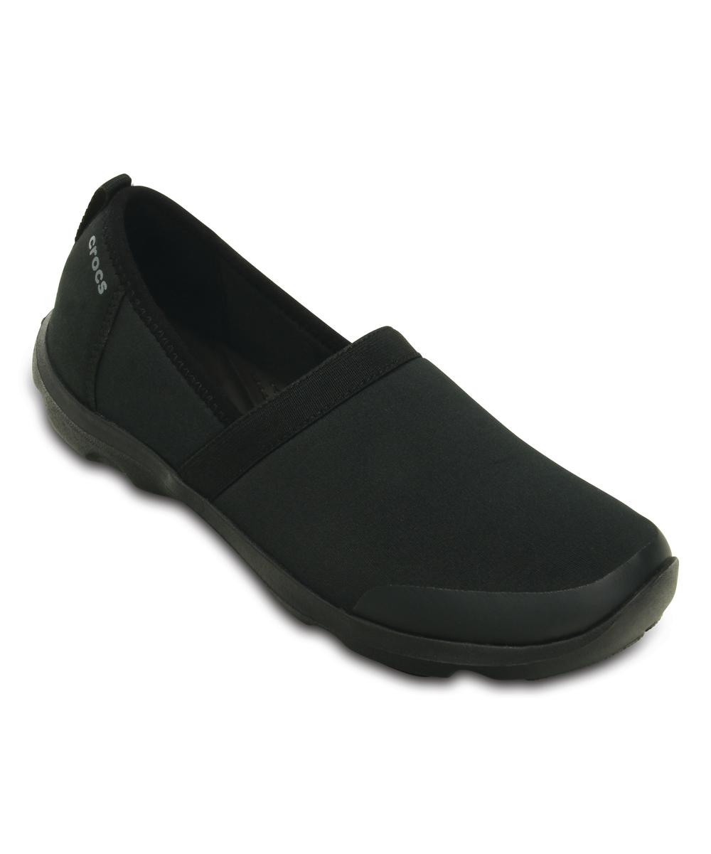 da16cc357b8c8 Crocs Black Duet Busy Day 2.0 Satya A-Line Shoe - Women
