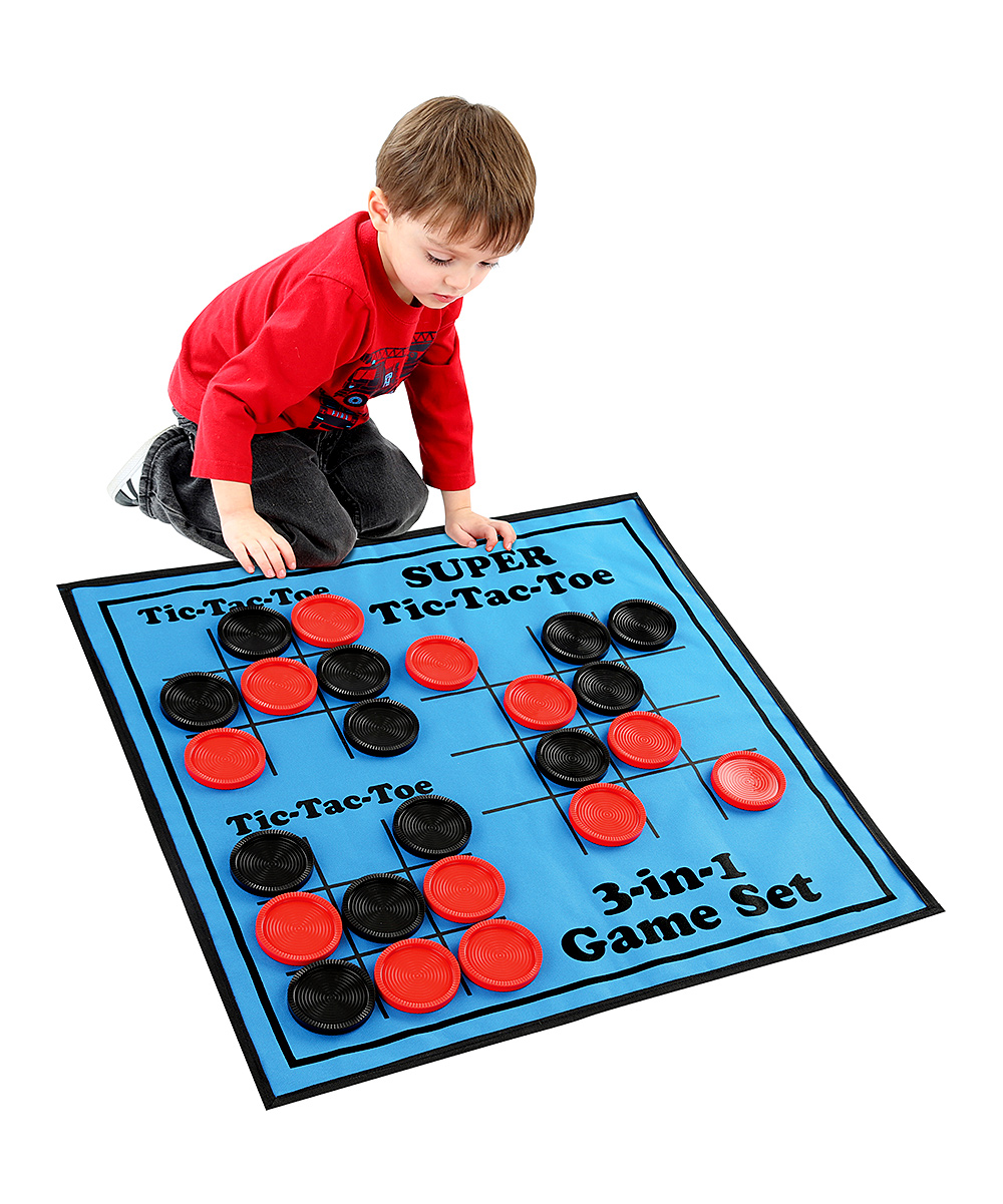 Etna  Board Games  - 3-In-1 Game Mat Set