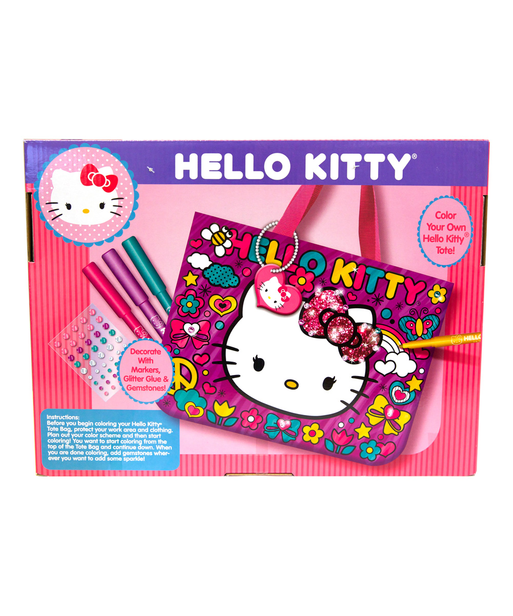 all gone. Hello Kitty Sparkle Tote Bag Kit 2d2d9be6f8