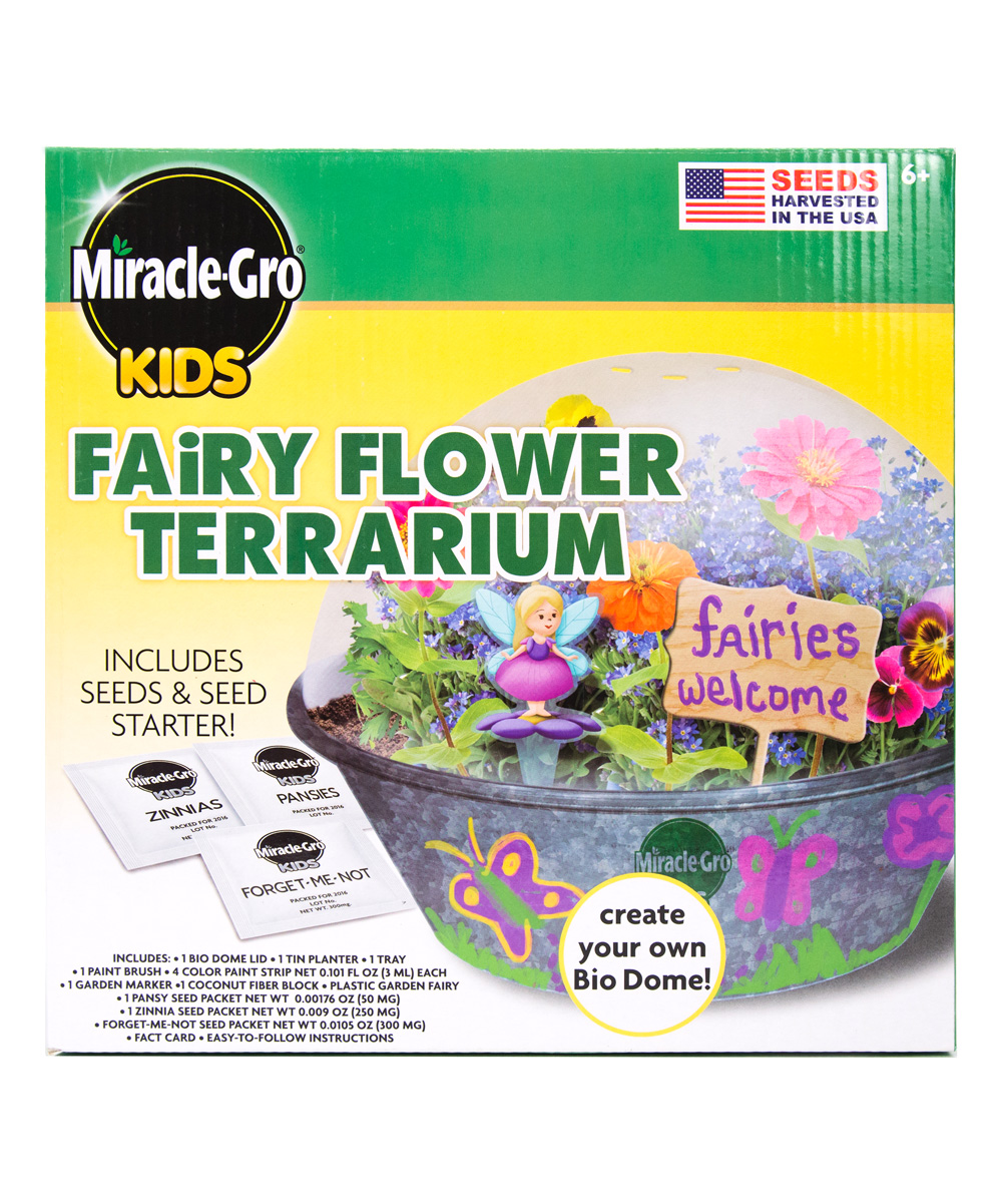 S Miracle Gro Kids Fairy Flower Terrarium Kit Alternate Image 1