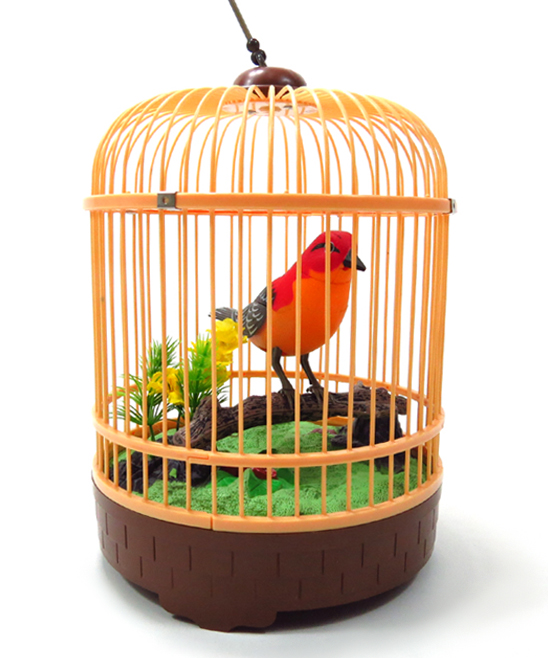 AZ Trading and Import  Remote Control Toys  - Singing & Chirping Red Bird Toy