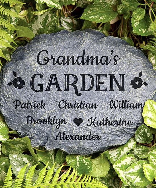 Her Garden Personalized Garden Stone
