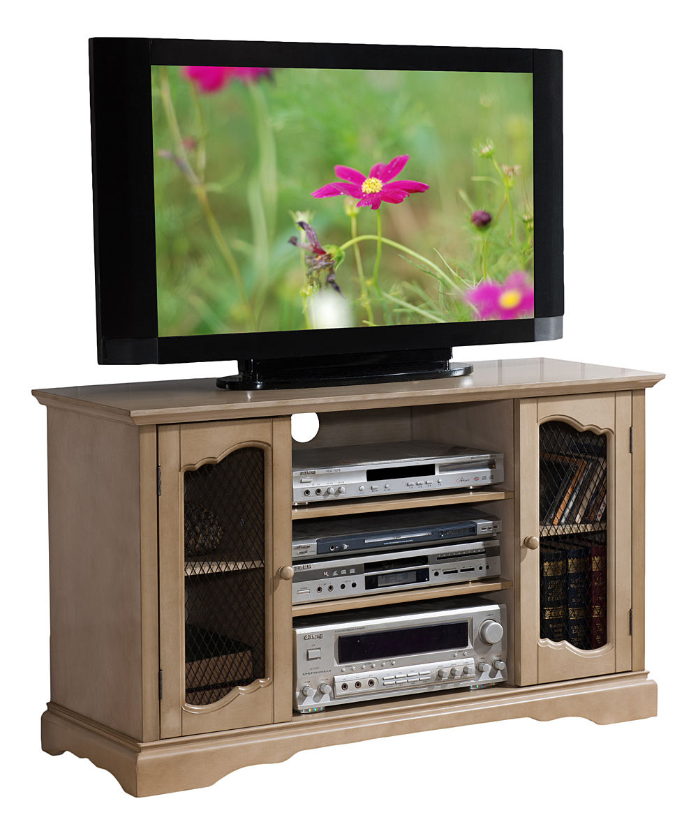 Pilaster Designs Antique White 42 Tv Stand Entertainment Center Zulily