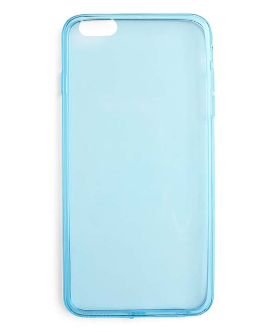 Jesice Women's Cellular Phone Cases Blue - Blue Clear Case For iPhone 6/6S