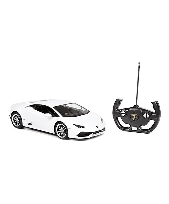 A to Z Toys  Remote Control Toys  - White Lamborghini Huracan LP 610-Remote-Control Car