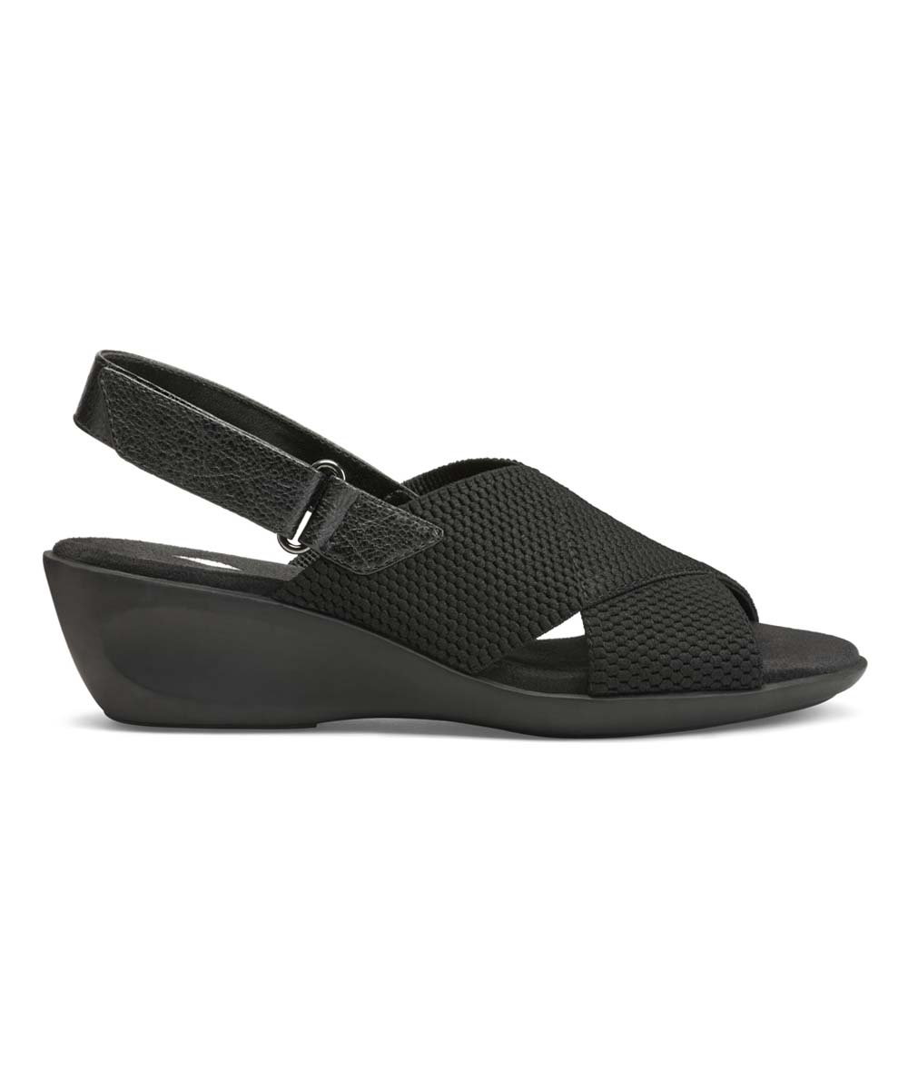 bf7d30d972e8 Aerosoles Black Badlands Sandal