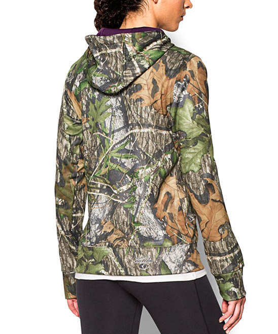 09f241bfbafce Under Armour® Mossy Oak Obsession Camo Big-Logo Fleece Hoodie | Zulily