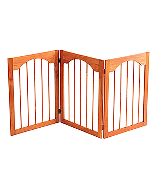 Etna Products Arch Style Wood Pet Gate
