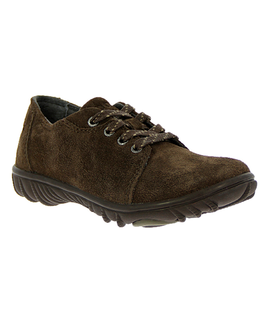 Bogs  Walking Shoes CHOCOLATE - Chocolate Wall Ball Suede Sneaker - Kids