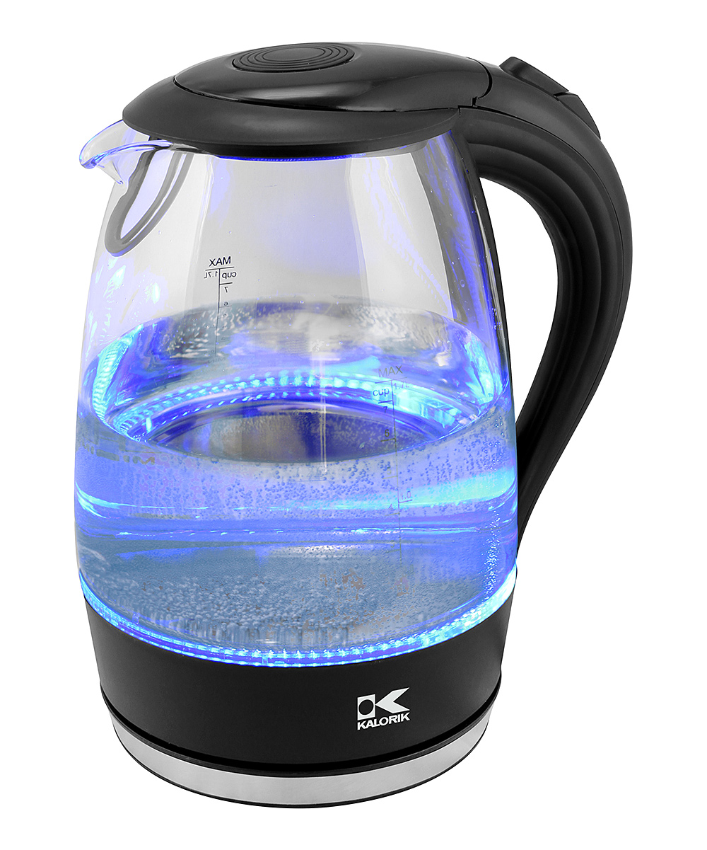 Kalorik JK 42458 BK LED Water Kettle, Black