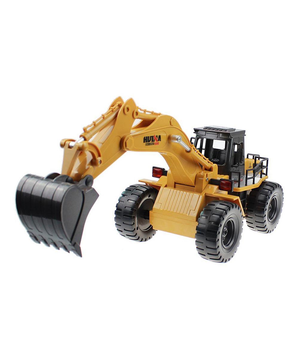 Mach 10  Remote Control Toys  - 12'' Remote-Control Excavator