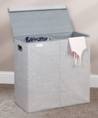 Deals on Aldo Folding Double Laundry Hamper