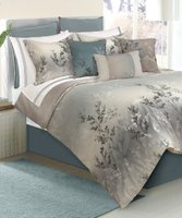 Deals on Safdie & Co. Inc.  Green Riviera Seven-Piece Comforter Set