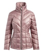 Kenneth Cole Women's Dusty Rose High-Collar Puffer Coat