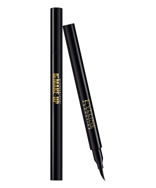 Eveline Cosmetics  Eye Liner  - Deep Black Marker Professional Waterproof Eyeliner