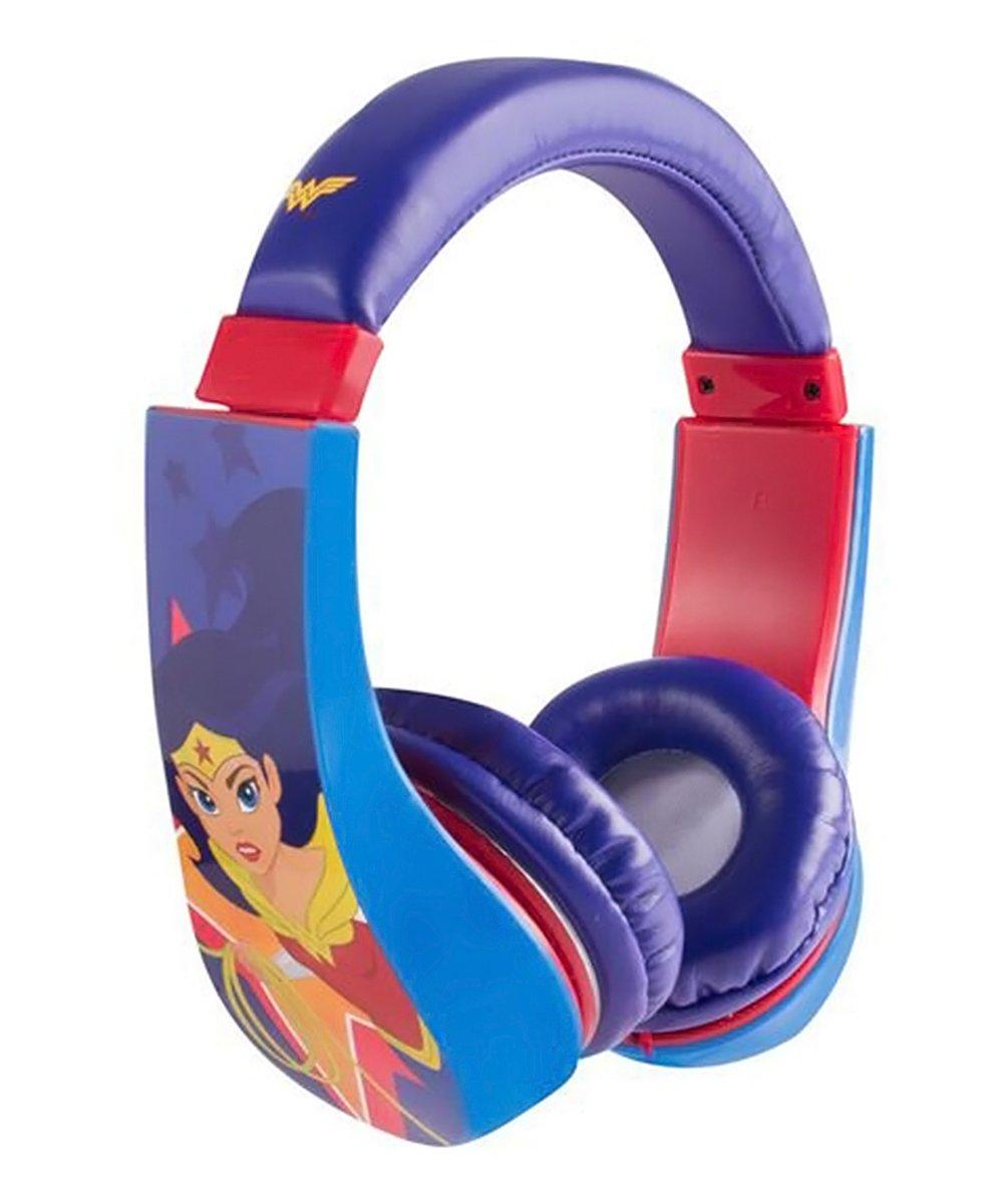 Sakar  Headphones  - Wonder Woman Volume-Limiting Headphones