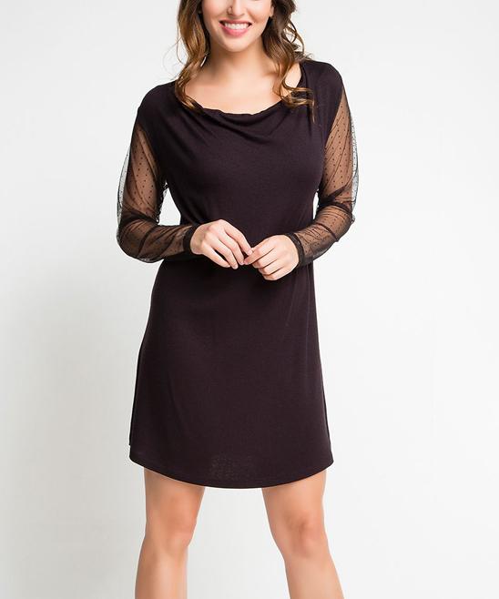 Sheer Shoulder Dress