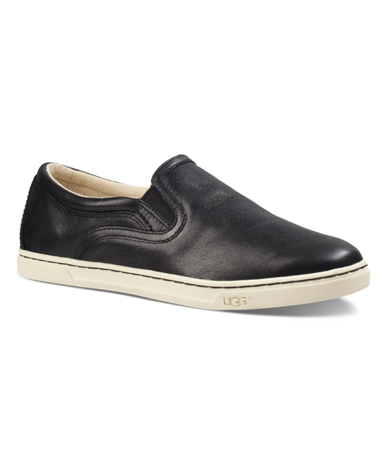 4494cf73133 UGG® UGG® Black Fierce Leather Slip-On Sneaker
