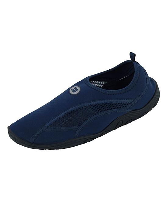 Star Bay Men's Water shoes Navy - Navy Water Shoe - Men