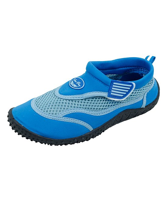 Star Bay  Water shoes Blue - Blue & Light Blue Water Shoe - Kids