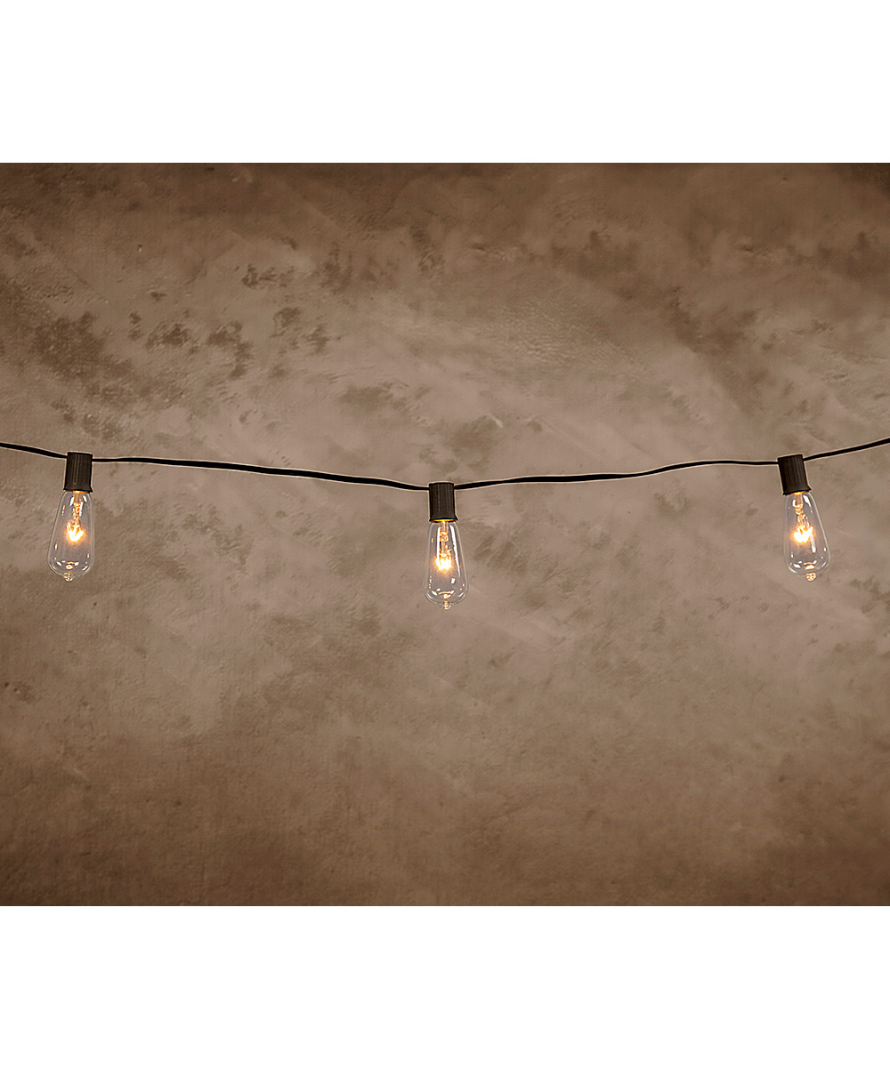 Cleveland Vintage Lighting 20 Edison Bulb Copper Wire Light Strand Wiring A 2 Fixture Alternate Image