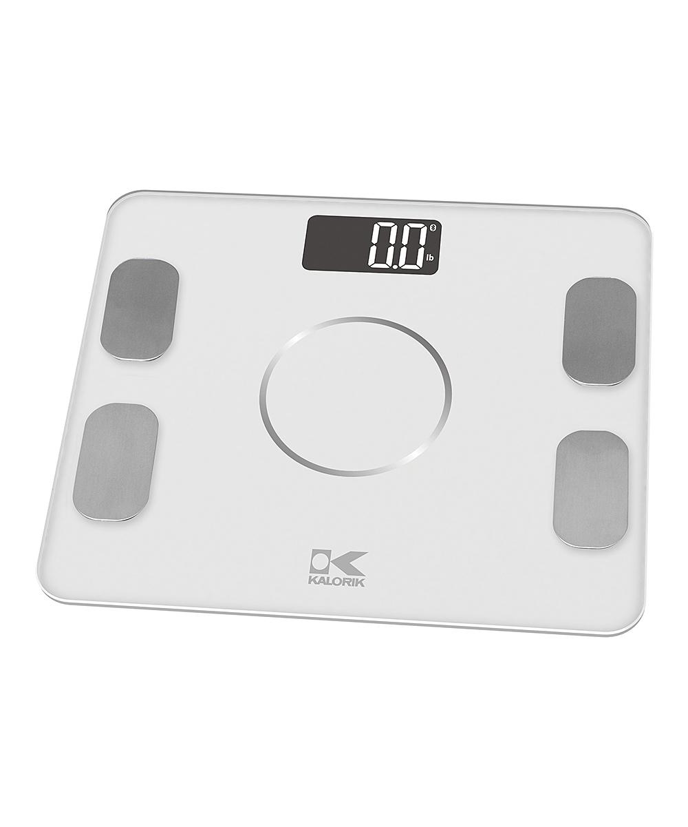 White Bluetooth Body Fat Scale
