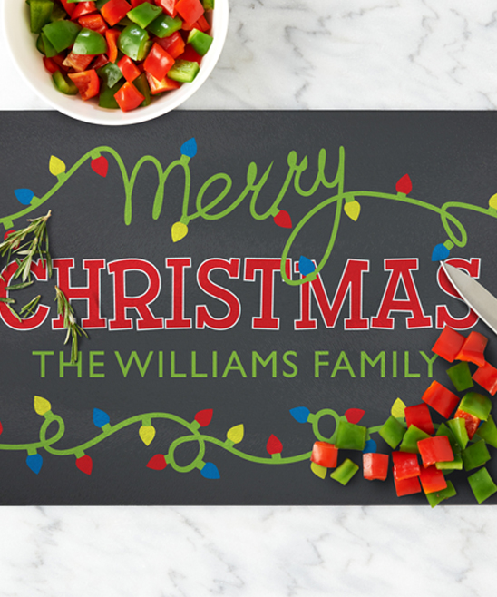 Christmas Board Design.Personal Creations Green